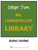 Escape from Mr. Lemoncello's Library - CCSS Aligned Literature Study