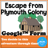 Escape from Plymouth Colony - An Adventure through time! -