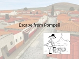Escape from Pompeii Choose Your Adventure PowerPoint Story Maze
