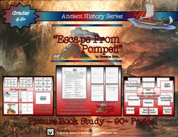 Escape from Pompeii Picture Book Study