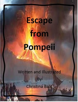 Escape from Pompeii by Christina Balit Imagine It - Grade 6