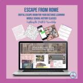 Escape from Rome - Digital Escape Room (Middle School) Dis