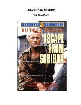 Escape from Sobibor Film Questions (Incl in Holocaust Unit