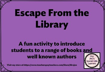Escape from the Library