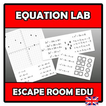 Escape room edu - Equation lab