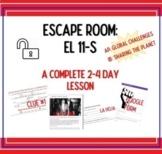 Escape room: el 11-s (Chilean coup, 9-11-73)