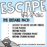 Escape Room: Arctic Escape Editable