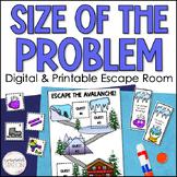 Size of Problem Escape Room Activity - Digital Google Slid