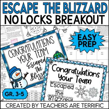 Escape the Blizzard No-Locks Escape Room