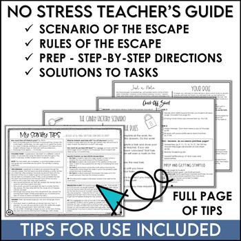 Escape the Candy Factory No-Locks Escape Room