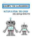 Escape the Classroom-3rd Grade Multiplication Math Escape Game