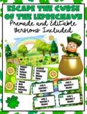 Escape the Curse of the Leprechaun: Editable & Premade Dig