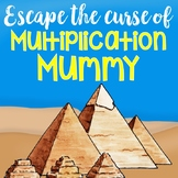 4th Grade - Escape the Multiplication Mummy - A Multiplication Breakout Project