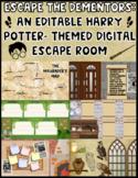 Escape the Dementors:  An Editable Digital Harry Potter Es