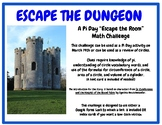 Pi Day Escape the Room Circle Challenge- Sir Cumference: C