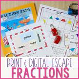 Escape the Fraction Fair - A Fraction Breakout Project