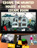 Escape the Haunted House: 100% Digital Escape Room (Includ