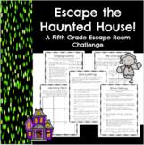 Escape the Haunted House-A Fifth Grade Math Escape Challenge