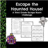 Escape the Haunted House-A Third Grade Math Escape Room Activity