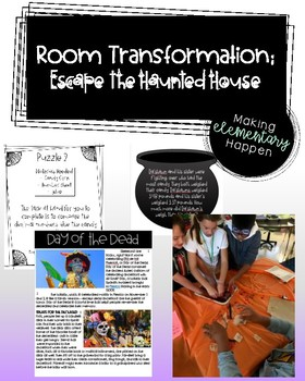 Escape the Haunted House - Room Transformation Activites
