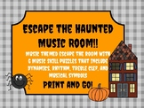 Escape the Haunted Music Room! 6 Musical Puzzles to Escape the Room