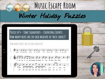 Escape the Holiday Music Room