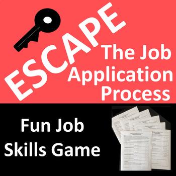 Escape the Job Application Process - A Fun Job Skills Game