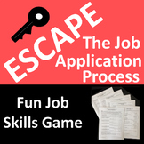 Escape the Job Application Process - A Fun Job Skills Game