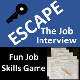 Escape the Job Interview Skills Game Activity