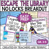 Escape the Library No-Locks Escape Room