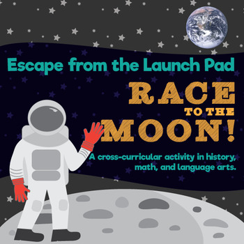 Escape the Launch Pad - Race to the Moon! Team Challenge Activity