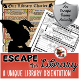Escape the Library: A Beastly Library Orientation