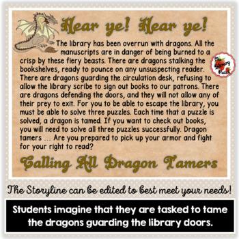 Escape the Library: A Truly Unique Library Orientation
