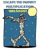 Escape the Mummy (Multiplication Digital Escape Room)
