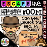 Escape the Music Room (Music Room Mayhem) - An Unlock the Box Activity Set