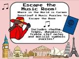 Escape the Music Room: Where in the World is Carmen Sonati