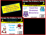 Escape the Ordinary! 4th Grade Revising and Editing Lock Box Games BUNDLE!