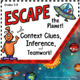 ESCAPE ROOM CONTEXT CLUES & INFERENCES FOR MIDDLE SCHOOL ENGLISH