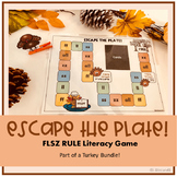 Escape the Plate: FLSZ Rule Phonics Game