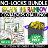 Escape the Rainbow and Container STEM Challenge