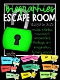Escape the Room. BIOGRAPHY!