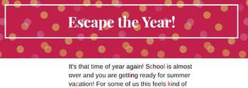Escape the Room End of Year Activity