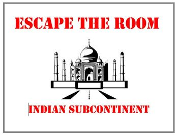 Escape the Room - History of the Indian Subcontinent