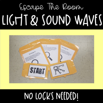 Escape the Room-Light and Sound Waves