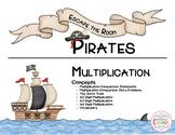 Pirate Escape the Room - Multiplication (4th Grade)