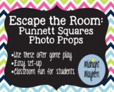 Escape the Room-Punnet Squares Photo Props