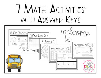 """Escape the Room: The A""""Math""""ing Race - Geometry-Shapes (4th Grade)"""
