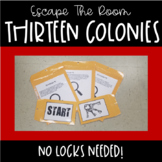 Escape the Room-Thirteen Colonies