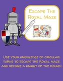 Escape the Royal Maze- Using Circle Turns