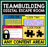 Team Building Digital Escape Room-Distance Learning, Back to School